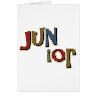 Junior Karte