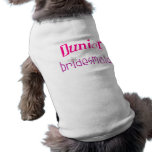 Juniorbrautjungfer Hunde-t-shirt