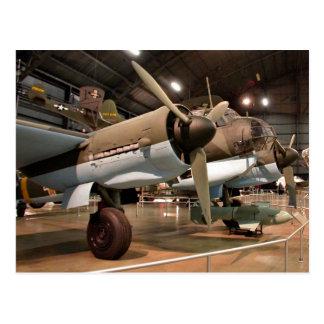 Junkers im Museum Postkarte