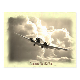 Junkers Ju 52/3m Postkarte