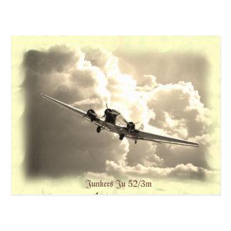 Junkers Ju 52/3m Postkarten