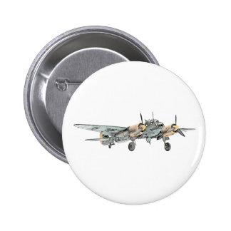 Junkers Ju 88 Bomber-Flugzeug Buttons