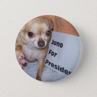 Juno für Präsidenten Runder Button 5,1 Cm
