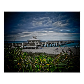 Juno Strand-Pier Plakat
