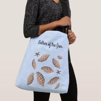 Junonia Seashells-Mutter der Bräutigam-Tasche Tragetaschen Mit Langen Trägern