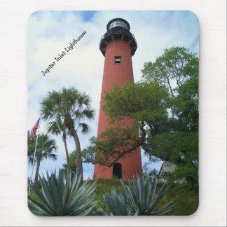 Jupiter-Einlass-Leuchtturm u. Museum Jupiter Mousepads