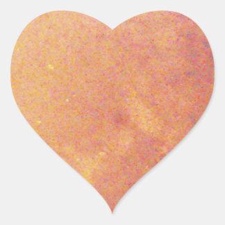 Jupiter Herz-Aufkleber