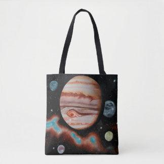 Jupiter mit galiläischen Monden - Tasche