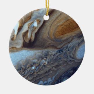 Jupiter-Sturm Keramik Ornament