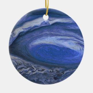 Jupiter-Sturm Rundes Keramik Ornament