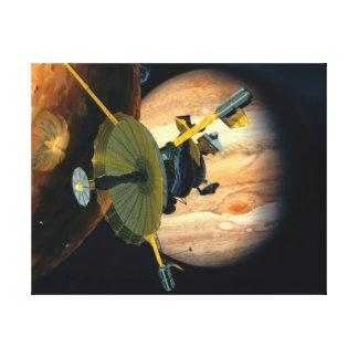 Jupiter- und LoGalileo Sonde Leinwanddruck