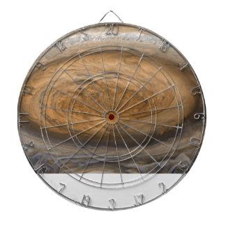 Jupiters große rote Stelle Dartscheibe