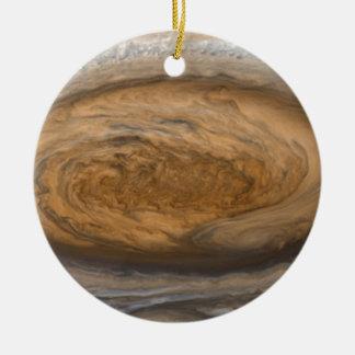 Jupiters große rote Stelle Keramik Ornament
