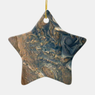 Jupiters Wolken Keramik Ornament