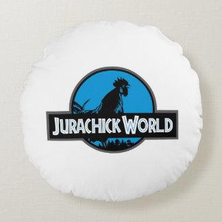 Jurachick Welt Rundes Kissen