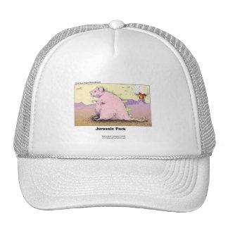 Jurrasic Schweinefleisch-unglaublich witzig Kappe