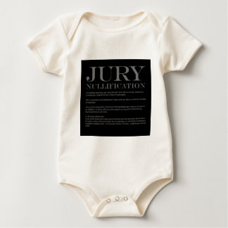 Jury-Aufhebung Baby Strampler
