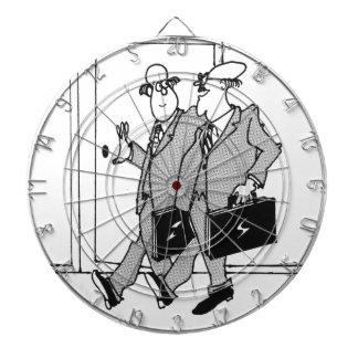 Jury-Cartoon 5492 Dartscheibe