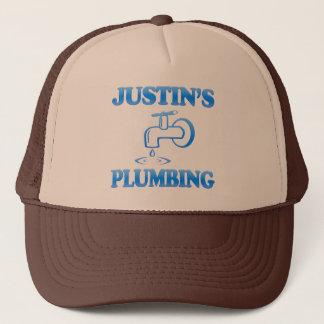 Justin Klempnerarbeit Truckerkappe