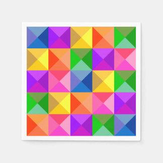 Juwel-Ton-geometrisches Muster Serviette