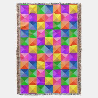 Juwel-Ton-geometrisches Muster Decke