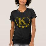 K-Buchstabe-Stern-Krone Hemden