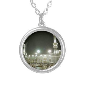 Kaaba Kaba Mekka Mecca Islam Allah Moslem Muslim Versilberte Kette