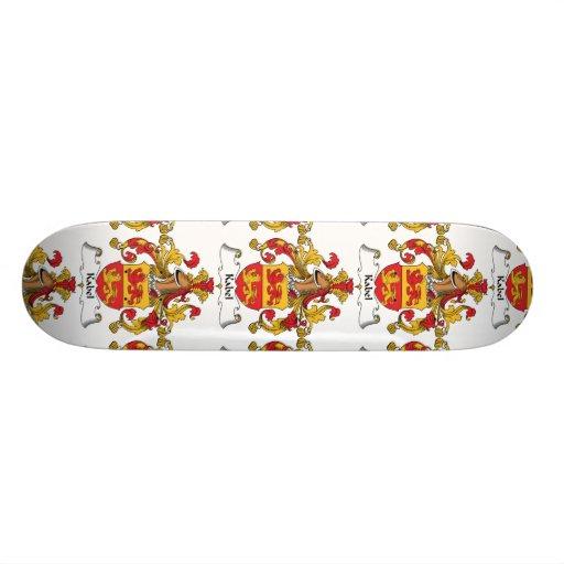 Kabel Familienwappen Skateboarddecks