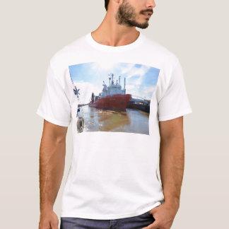 Kabel-Schicht DP-Spule T-Shirt