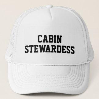 Kabine Stewardess Truckerkappe