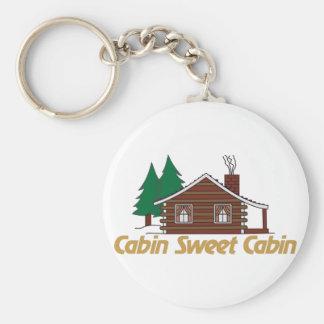Kabinen-Bonbon-Kabine Schlüsselanhänger