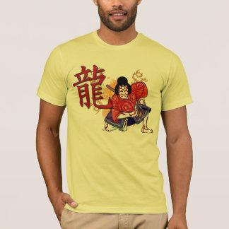 Kabuki japanische Schauspieler-Volkskunst T-Shirt
