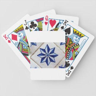 Kacheln, Portuguese Tiles, Pokerkarten