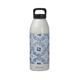 Kacheln, Portuguese Tiles, Wiederverwendbare Wasserflasche