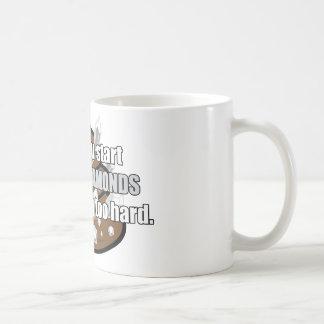 Kacken der Diamanten Kaffeetasse