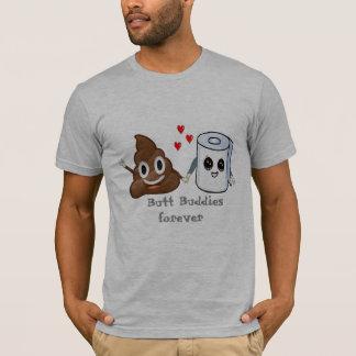 kacken Sie die lustigen emoji T-Shirt