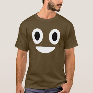 Kacken Sie Emoji Halloween Kostüm T-Shirt