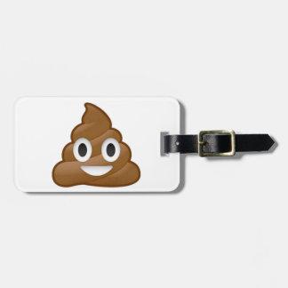 Kacken Sie emoji Koffer Anhänger