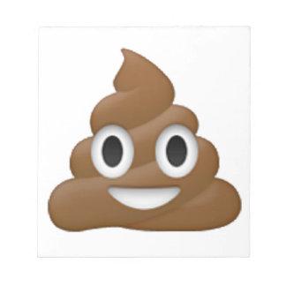 Kacken Sie - Emoji Notizblock