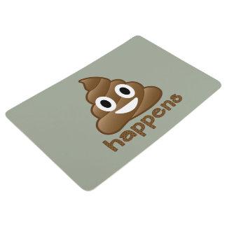 Kacken Sie geschieht Emoji Bodenmatte