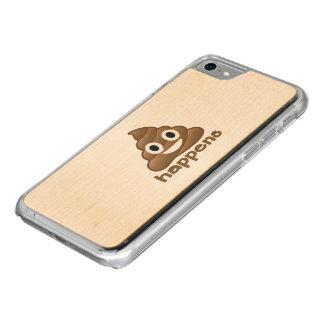 Kacken Sie geschieht Emoji Carved iPhone 8/7 Hülle