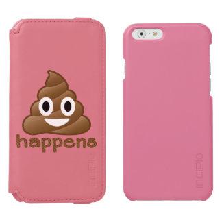 Kacken Sie geschieht Emoji Incipio Watson™ iPhone 6 Geldbörsen Hülle