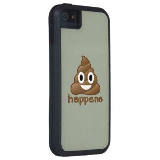Kacken Sie geschieht Emoji iPhone 5 Schutzhülle