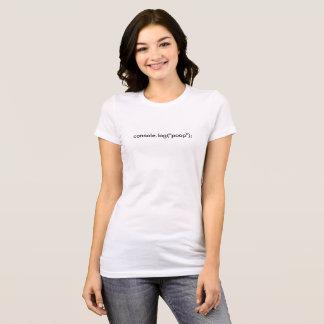 Kacken Sie Klotz-T-Stück T-Shirt