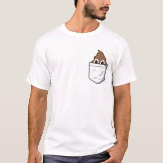 Kacken Sie Tasche. Lustiger emoji T - Shirt