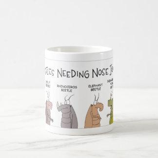 Käfer-Nasenoperationen Kaffeetasse