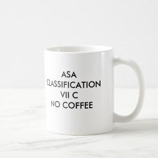 KAFFEE ASA-KLASSIFIKATIONS-VII CNO, ASA CLASSIFI… TASSE