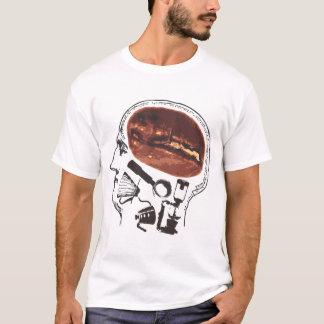 Kaffee auf dem Gehirn T-Shirt