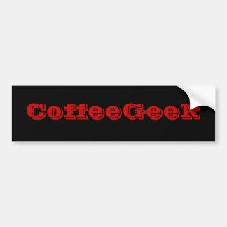 Kaffee-Aussenseiter Autoaufkleber