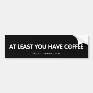 Kaffee-Autoaufkleber Autoaufkleber